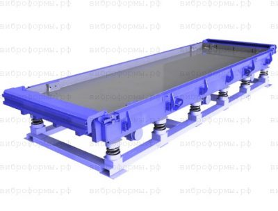 Металлоформы дорожных плит ПДН-14 (виброформы с прогревом)
