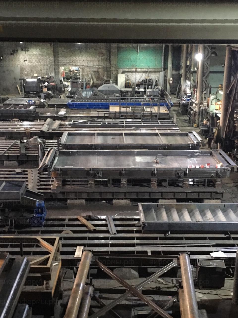 Производство форм для ЖБИ